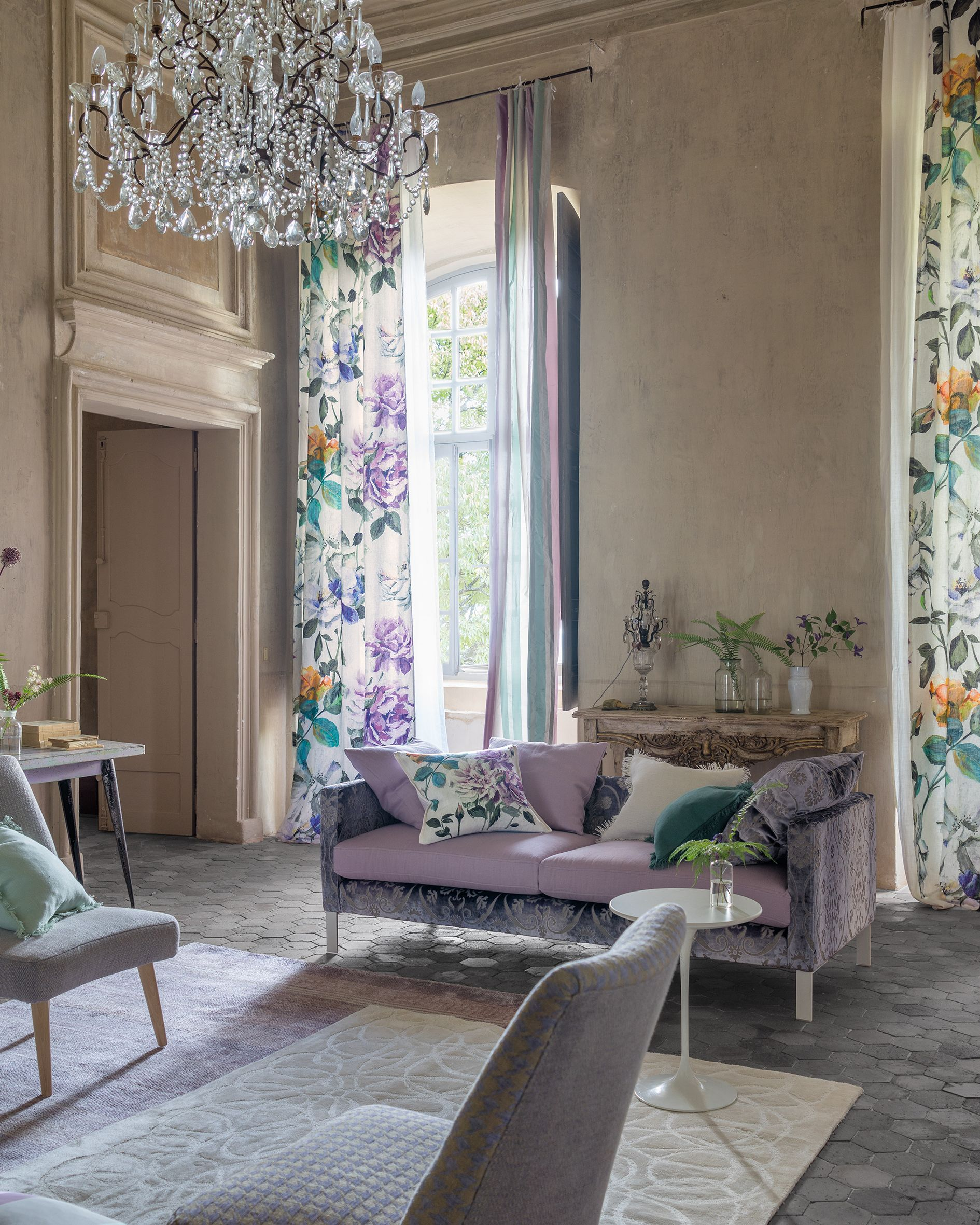 Designers guild spring summer 2016 cortinas persianas y papel tapiz papel tapiz - Designers guild telas ...