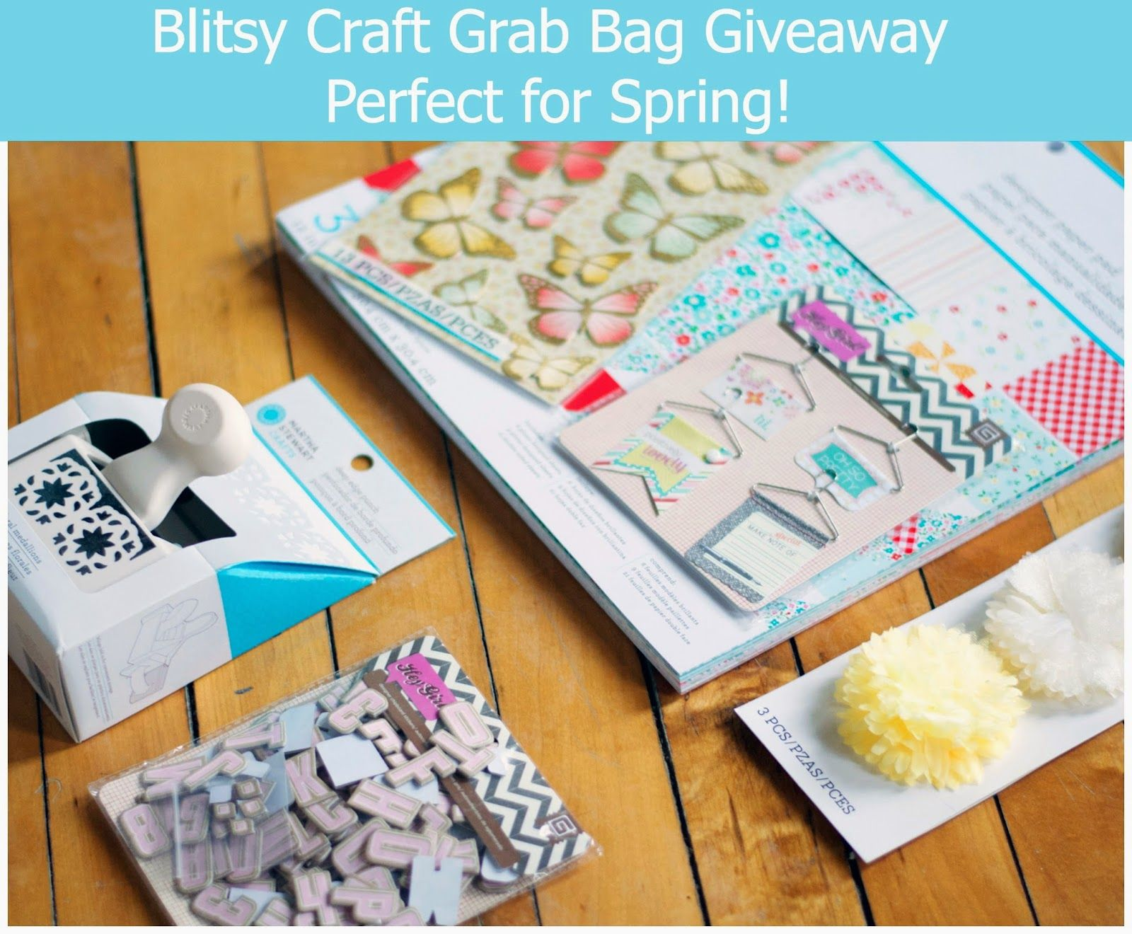 Another Great Giveaway From @Blitsy Crafts ! Blitsy Crafts