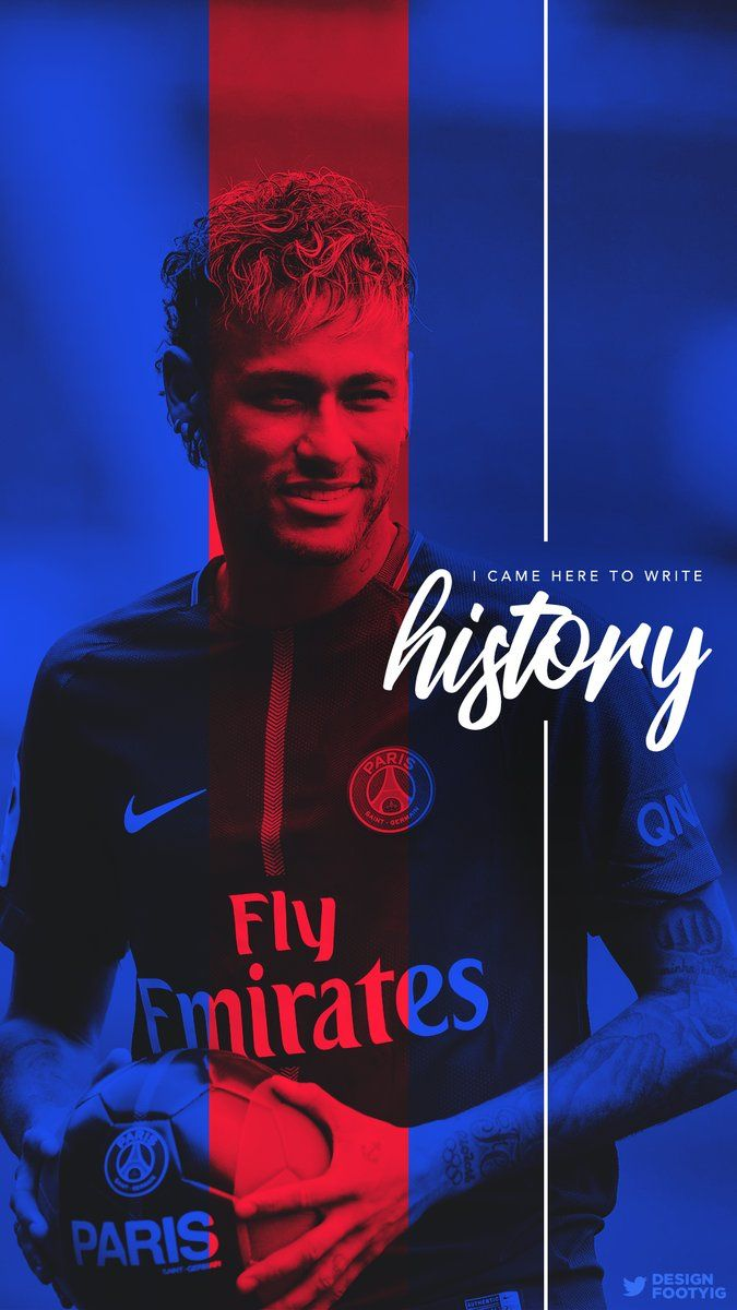 Neymar PSG Iphone Wallpaper