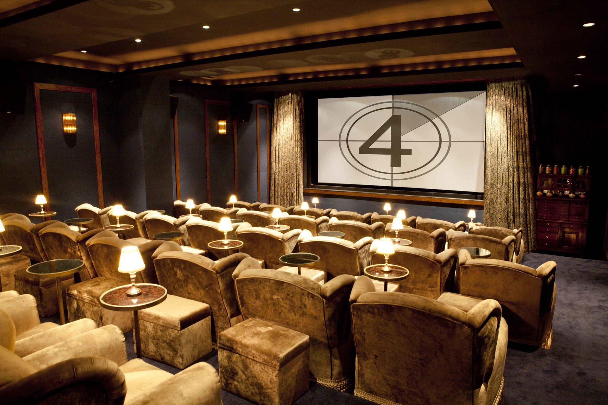 Soho house new york screening room sohohouse for Design hotel le cinema