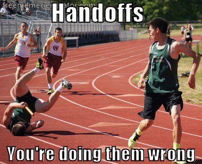 Handoffs Worse Case Scenario Running Humor Track And Field Runners World
