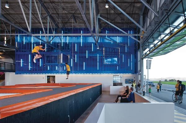 House Of Air Indoor Trampoline Built Environment Architect