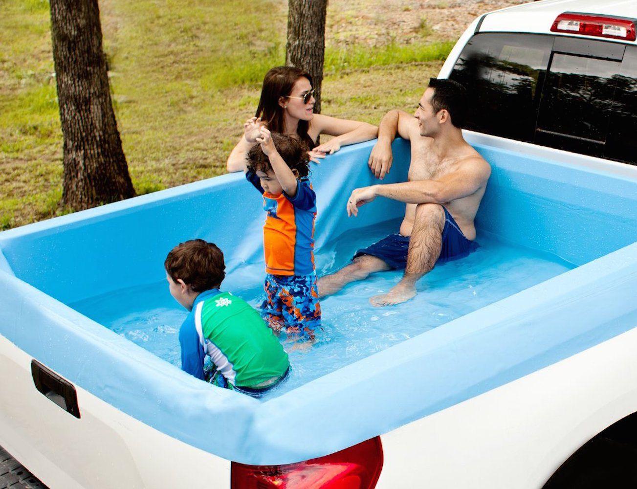 Pickup Pools A Truck Bed Swimming Pool Pickup Trucks Bed Truck Bed Pickup Trucks