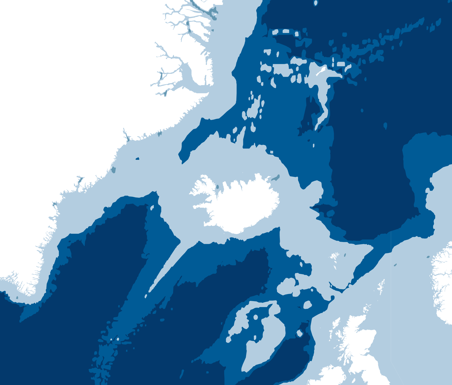 Bathymetry map of Ithe world using D3.js and Topojson | Maps ...