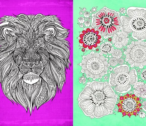 Go Color These 6 Colour Therapy Colouring In Pages For Free Download