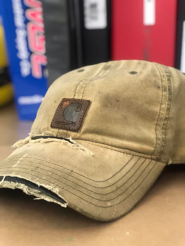 My Well Worn Work Hat That I Ve Been Using For About 5 Years Carhartt Work Hats Carhartt Streetwear Hats
