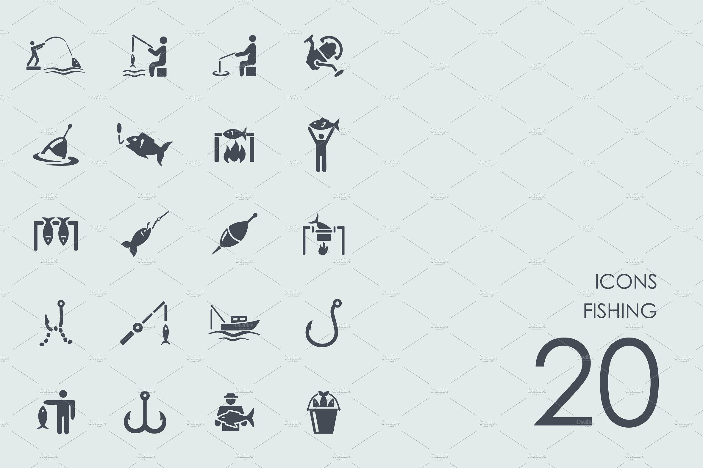 Fishing icons Icon, Simple icon, Ios apps