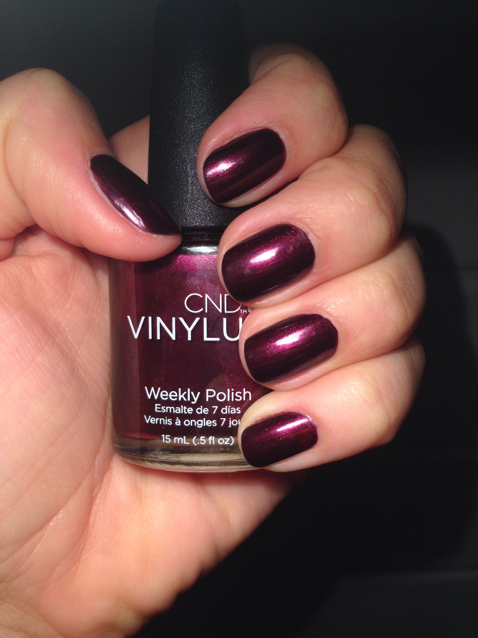 dark lava. I want to try this new line of nail polishes. CND Vinylux ...