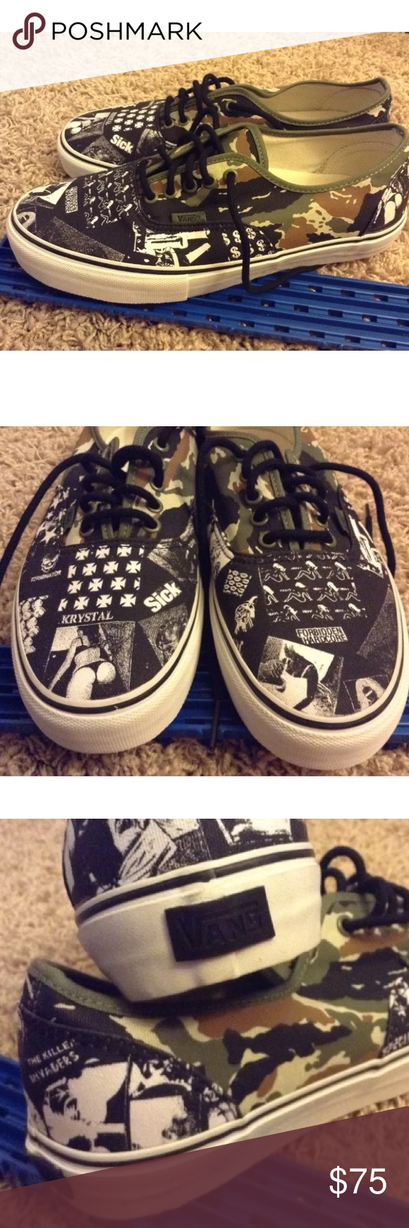 57392a7380 NEW Vans Syndicate China Girl Summer Weirdo Dave Brand  Vans Size  Mens US  10.5