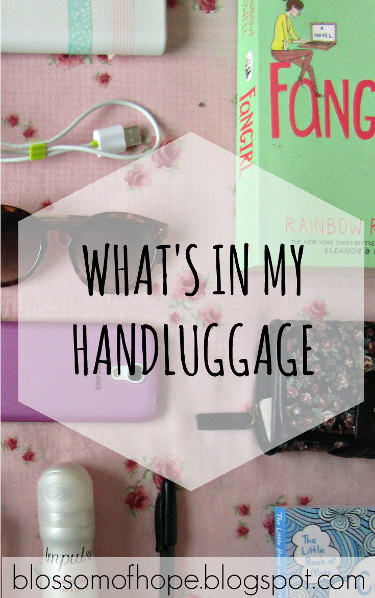 Want to see what I take in my handluggage when I go on holiday? I wrote a post on it!