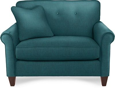 Chair And A Half Teal