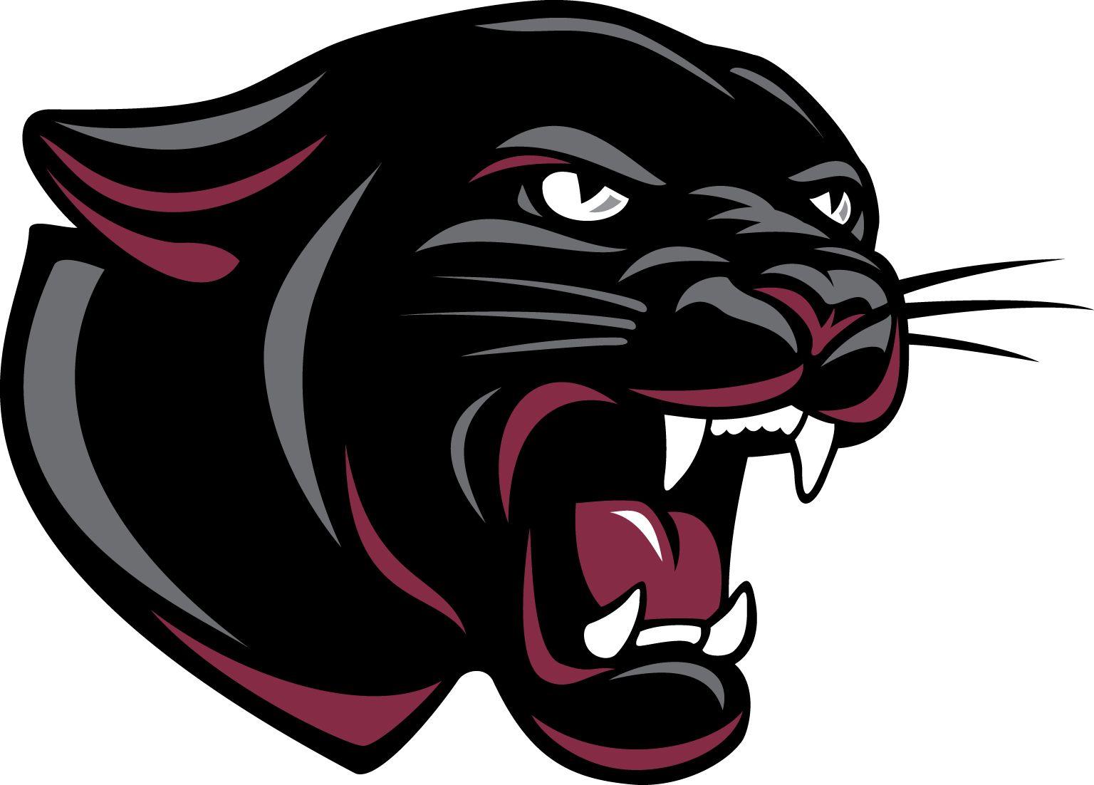 black panther logo ears folded clipart cat logos panther logo