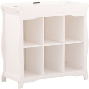 Storkcraft Aspen 6 Cube Organizer And Changing Table
