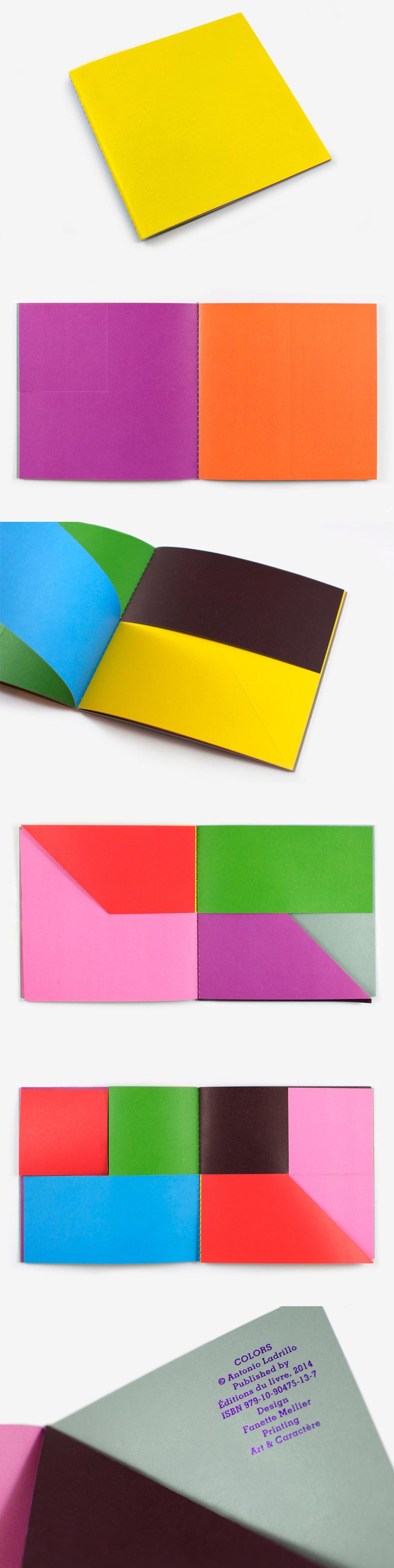 Dots, lines, colors {books} by Antonio Ladrillo