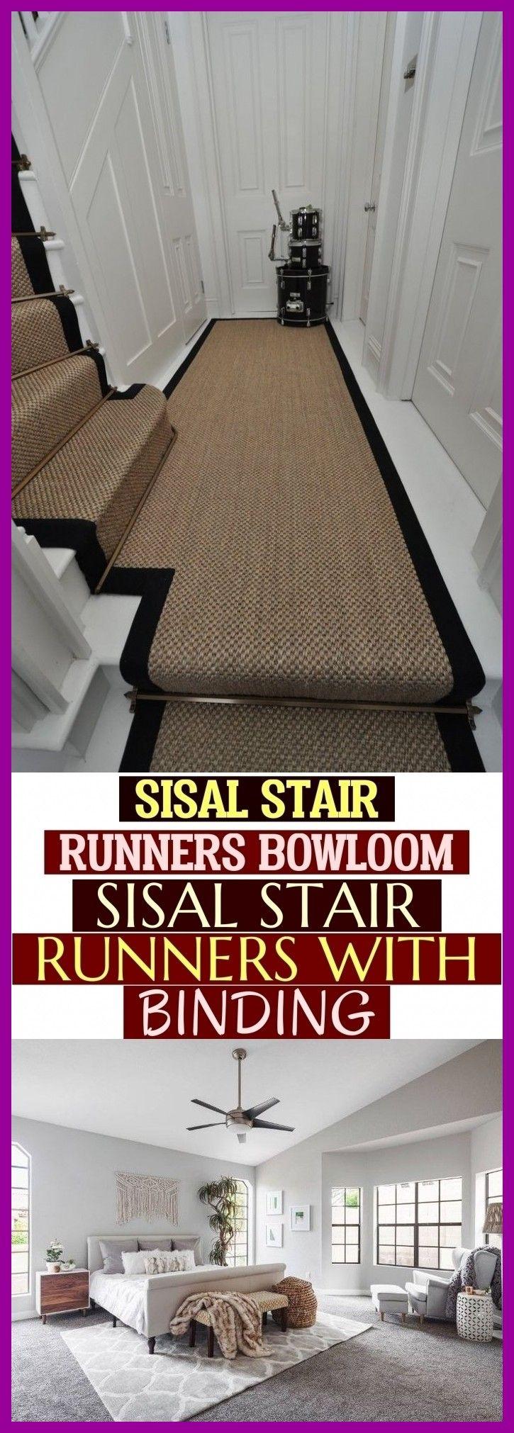 - Sisal Stair Runners Bowloom Sisal Stair Runners With Binding