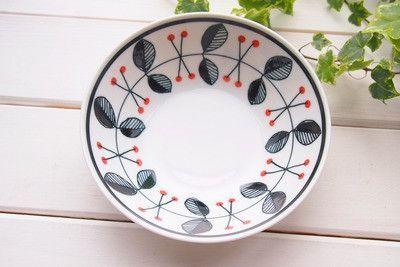 Mino Porcelain Bowl, 'Raspberry' 17cm