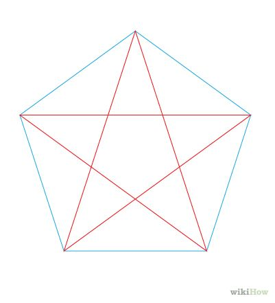 How To Draw A Perfect Star 13 Steps With Pictures