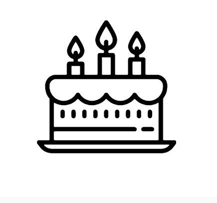 Birthday Cake Icon This Is A Icon It Is A Part Of A Collection Of 58 800 Flat Icons Produced By Icons8 Icons Follow Birthday Icon Cake Icon Wedding Cake Icon