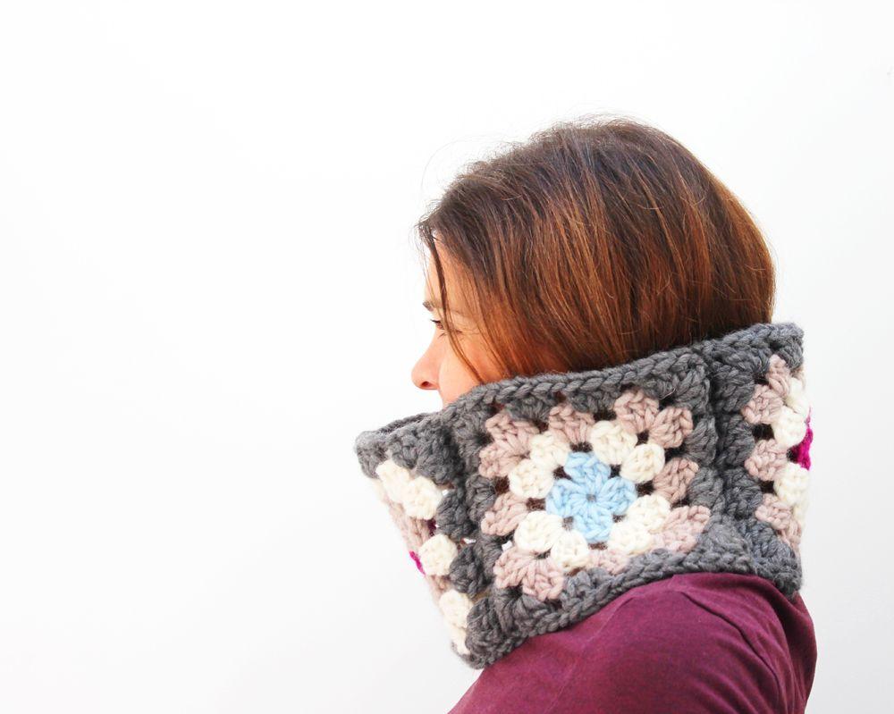 zuma cowl - free pattern | **CrOchEt** | Pinterest | Chal, Cuellos ...