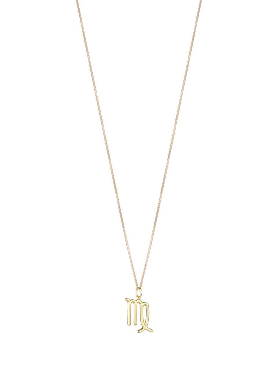Christmas present zodiac jewelry Triangle zodiac sign Virgo Necklace,Virgo Necklace,Gift ideas for Virgo astrology jewelry Holiday gift