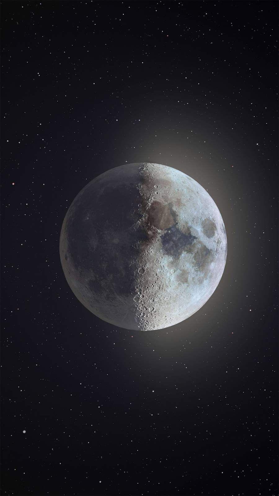 Moon Iphone Wallpaper Papel De Parede Android Arte Da Lua Fotos Da Lua