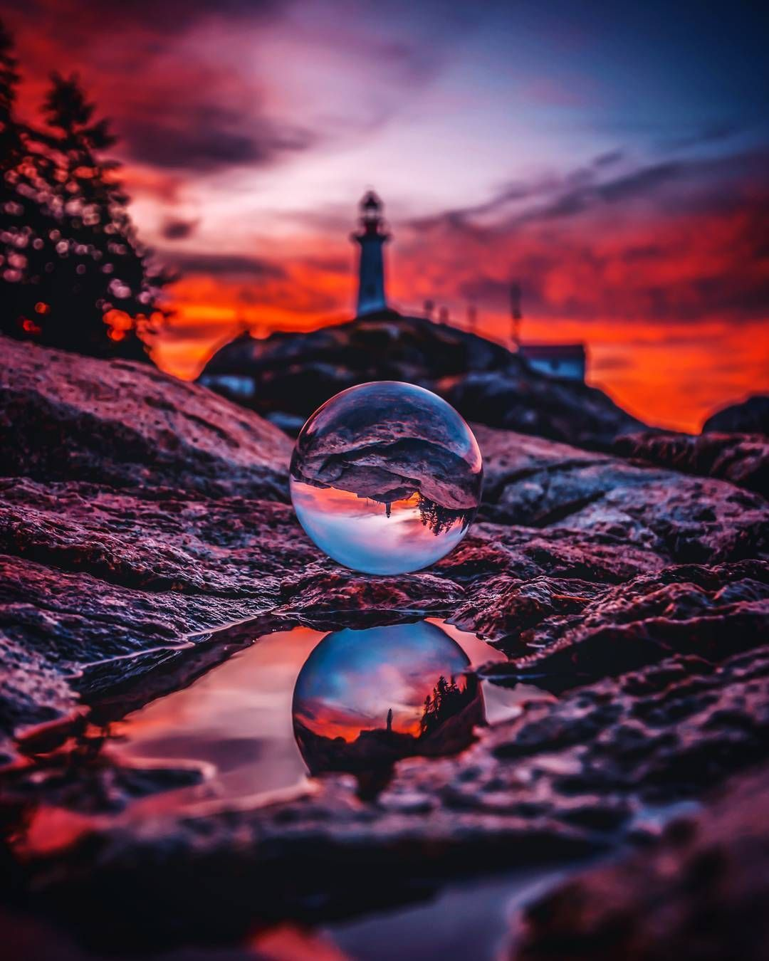 Crystal Ball Photography High Quality Limball Pro 80 Mm With Free Stand Landscape Photography Nature Photography Reflection Photography