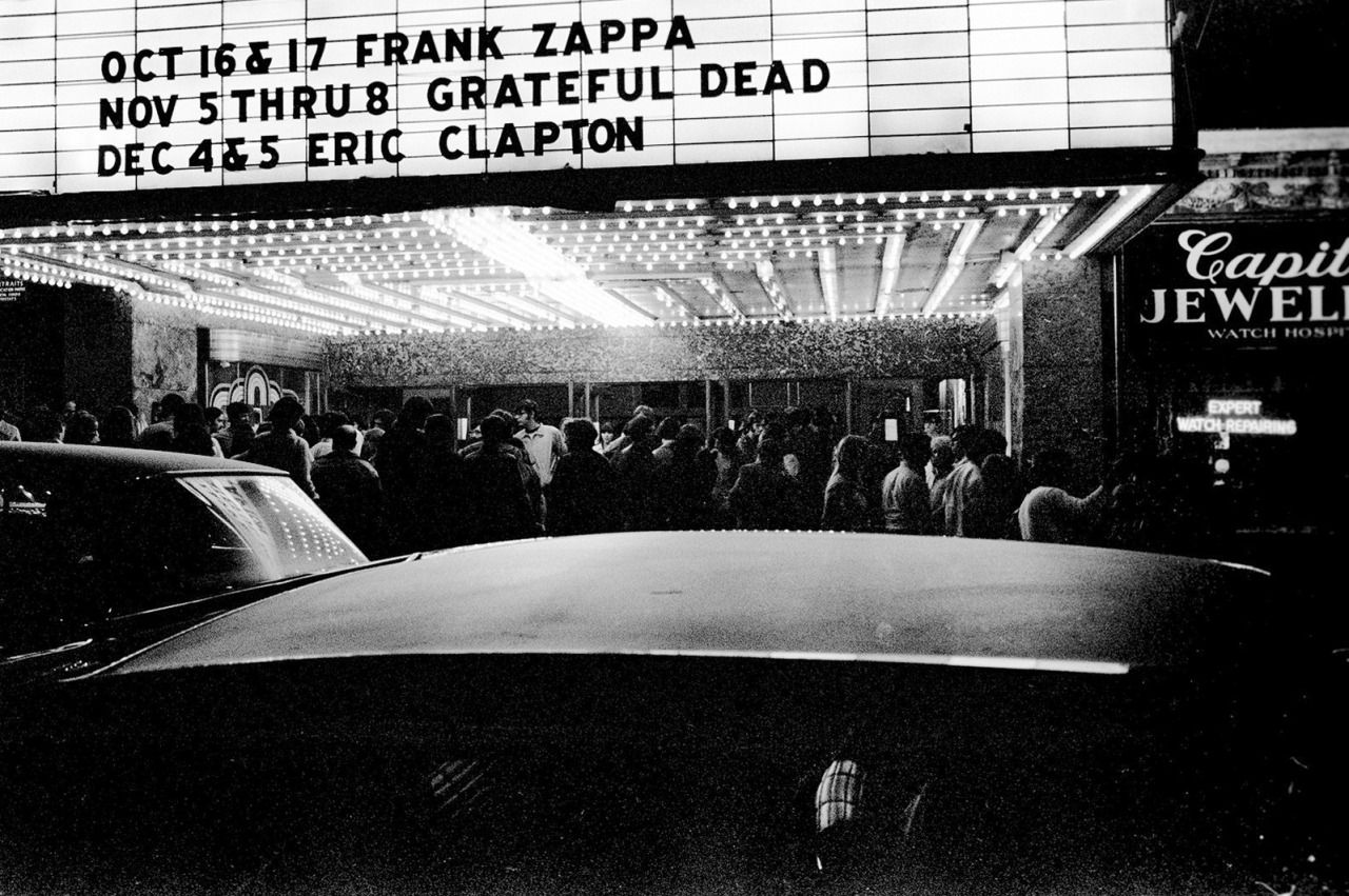 Frank Zappa, The Grateful Dead & Eric Clapton Capitol Theater, Port ...
