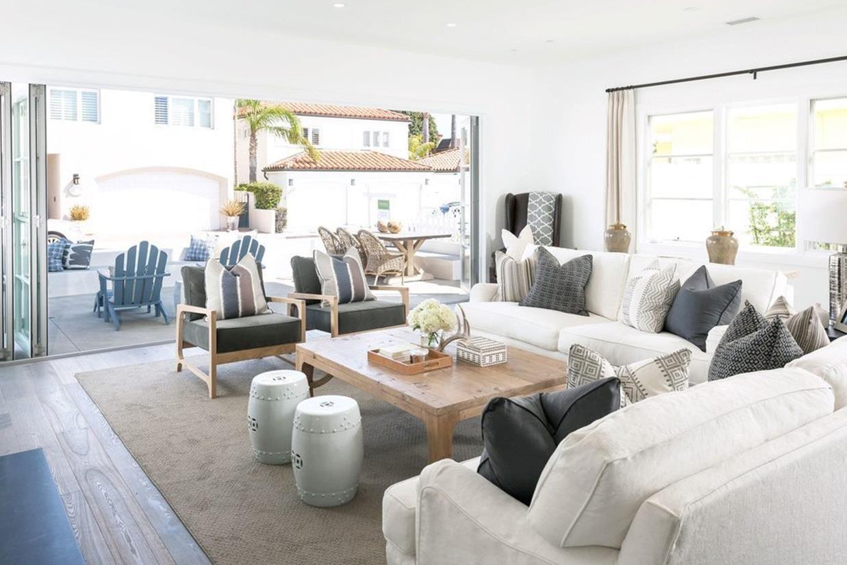 45 comfy coastal farmhouse decor ideas coastal living