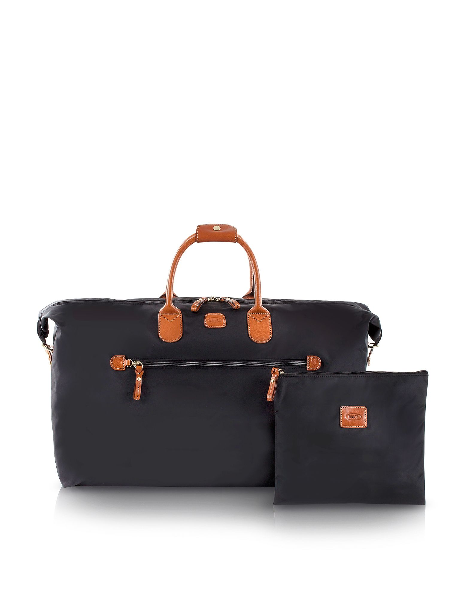 Bric's Travel Bags, X-Travel Large Foldable Last-minute Holdall in a Pouch