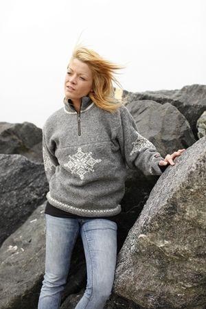 Norweger pullover von Gjestal aus 100% reiner neuer wolle