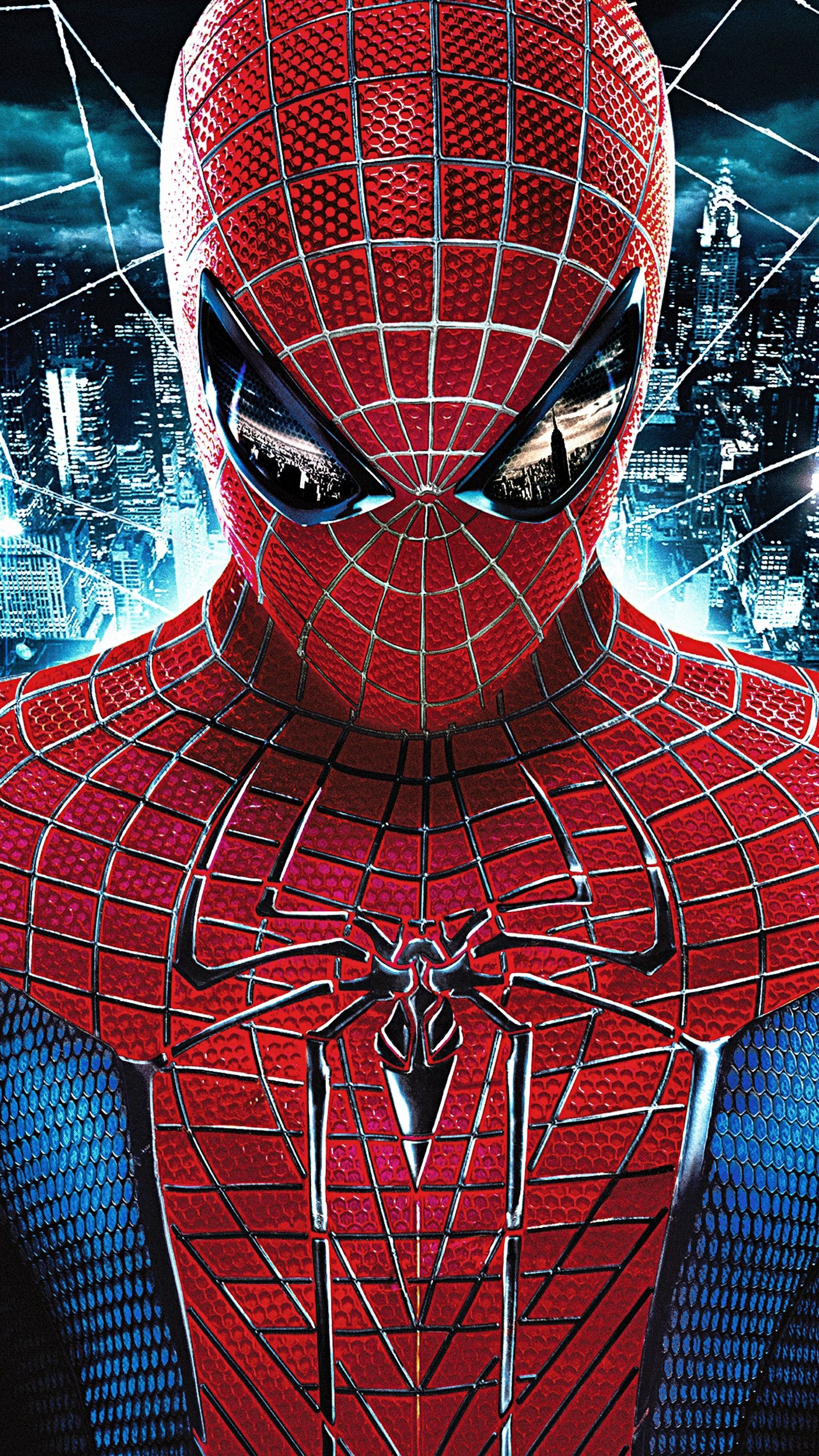 The Amazing Spider Man 2012 Phone Wallpaper Comic Art