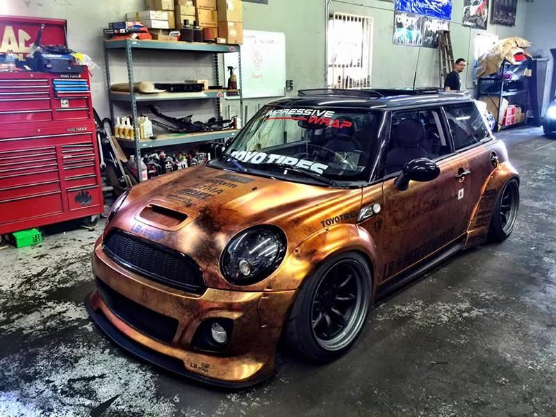 Liberty Walk MINI Cooper By Impressive Wrap Tuning Mini - Car sticker designimpressive wrap decal design for car car design