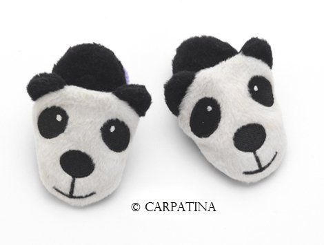 Panda Slippers for 18 Inch Dolls Cute Slippers for American Girl Dolls AG