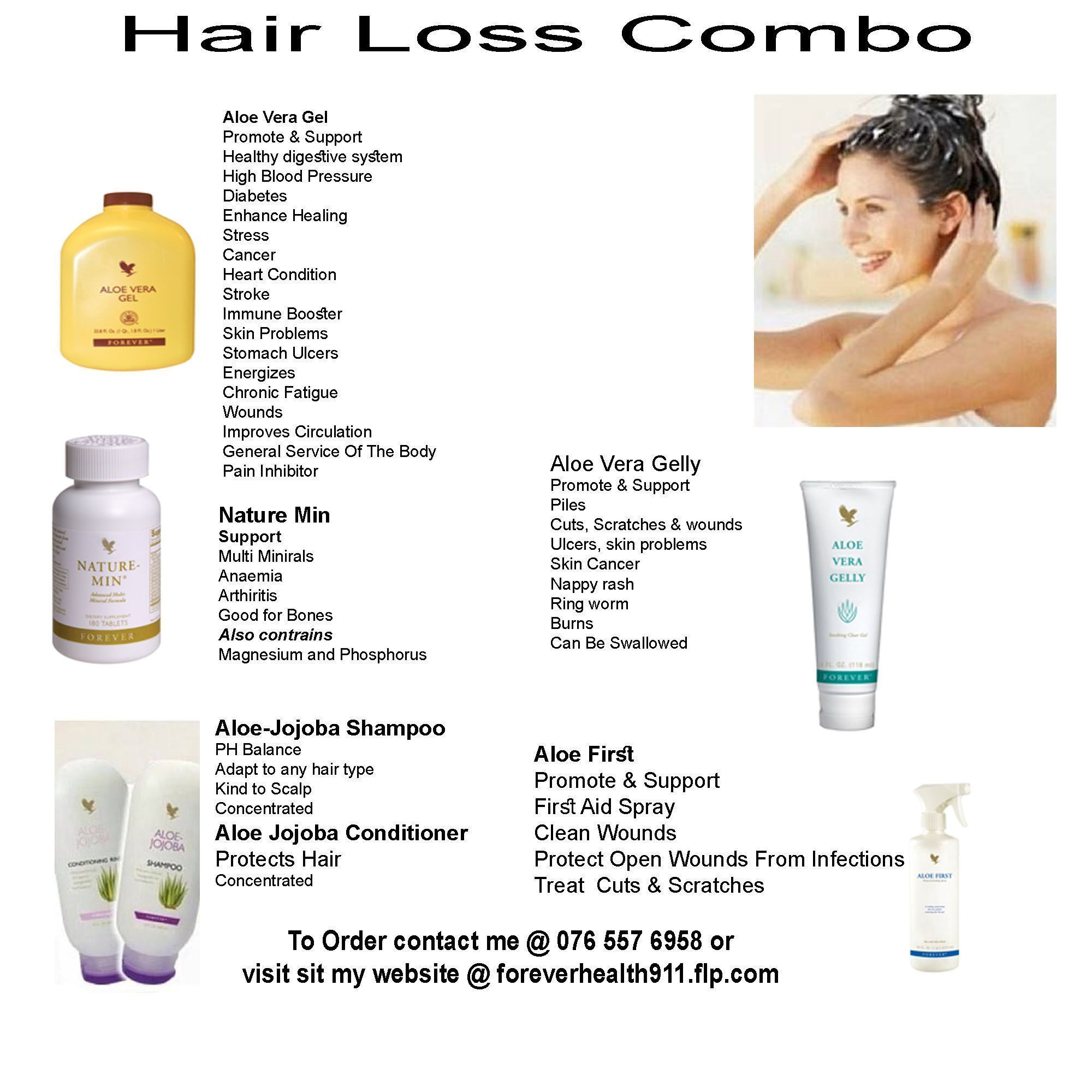 Forever Living Products for Baldness and Hair Loss