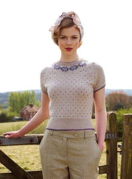 Land Girl By Debbie Bliss Sweaters Vintage Fashion