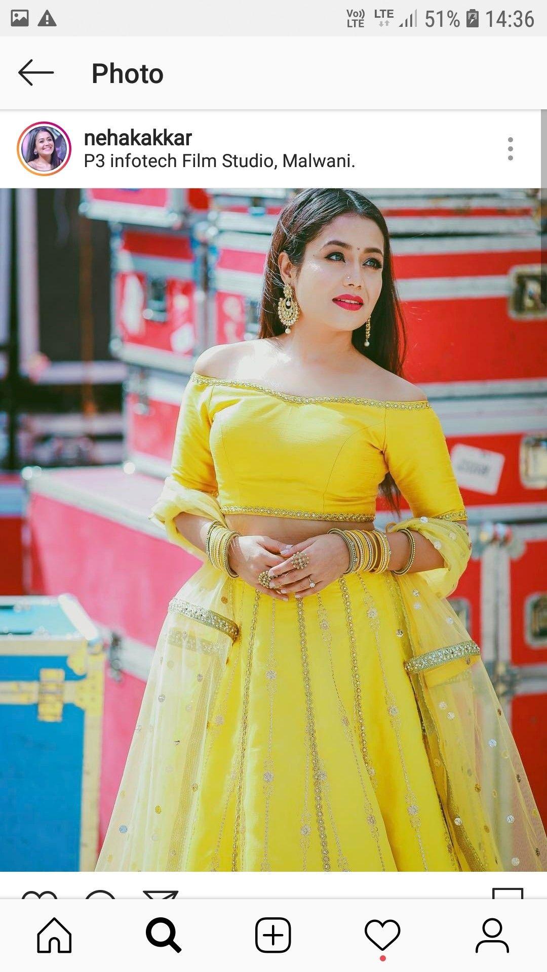 Pin by Subhadra on neha kakkar Neha kakkar dresses