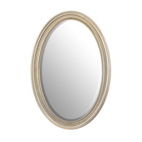 Silver Oval Mirror Kirklands 29 99, Oval Silver Beaded Mirror