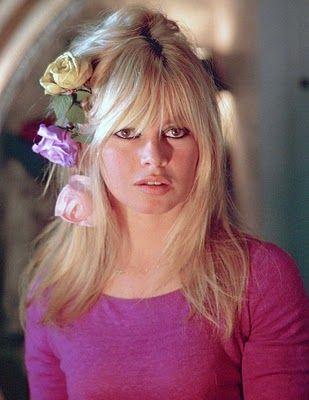 Bardot Flowers In Hair Brigitte Bardot Bridgitte Bardot Bardot