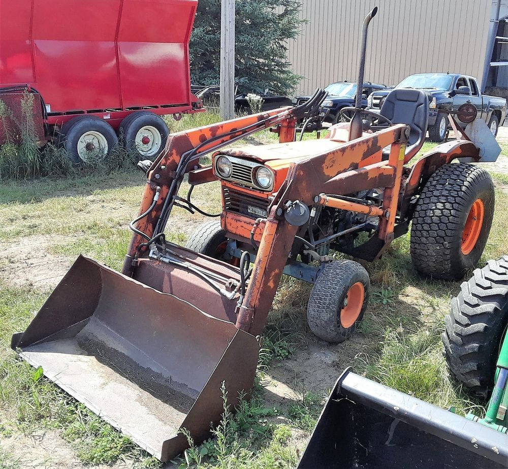 hight resolution of genuine 1979 kubota l245 l245f 2wd tractor loader kubota