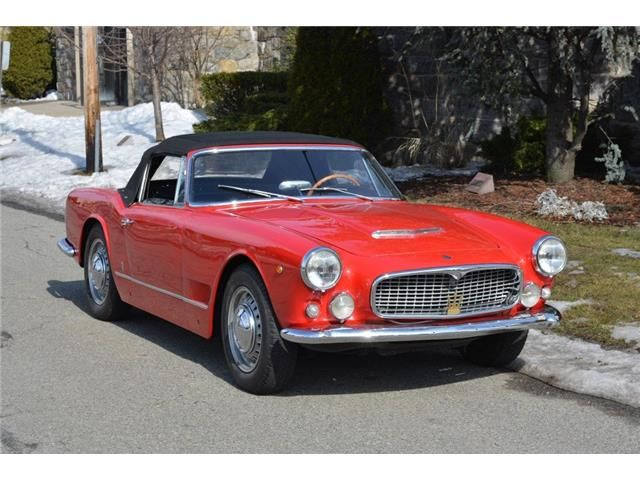 Maserati Ghibli 3500 Vignale Spyder - 1960