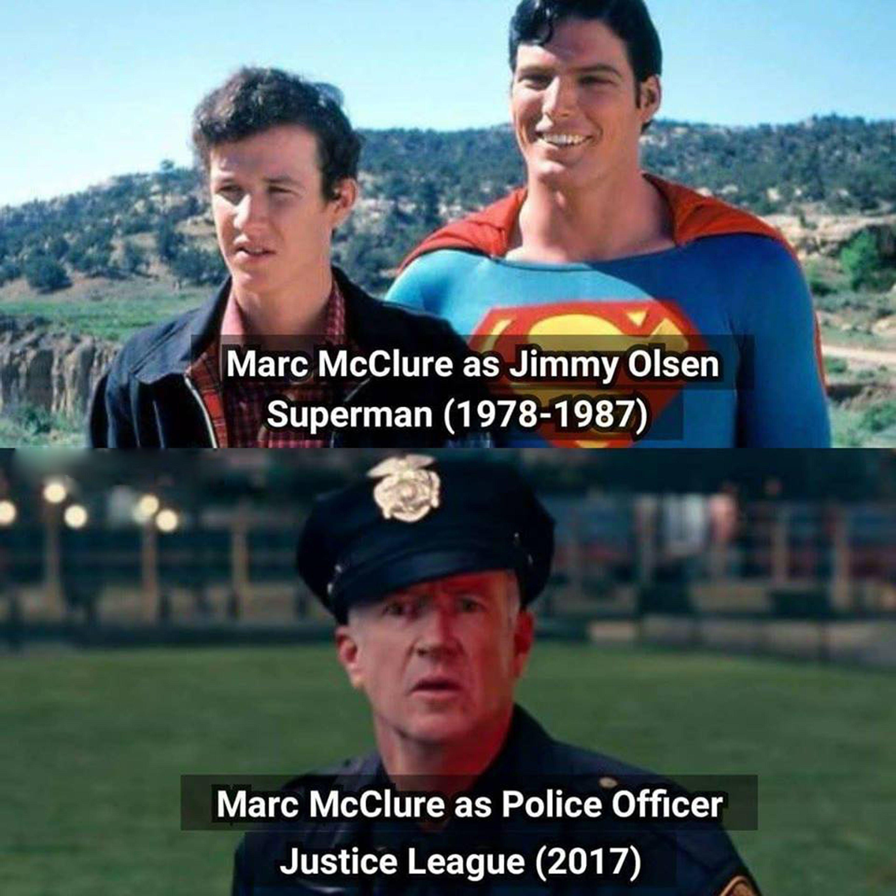 Marc Mcclure As Jimmy Olsen #Superman (1978 1987) Marc Mcclure As