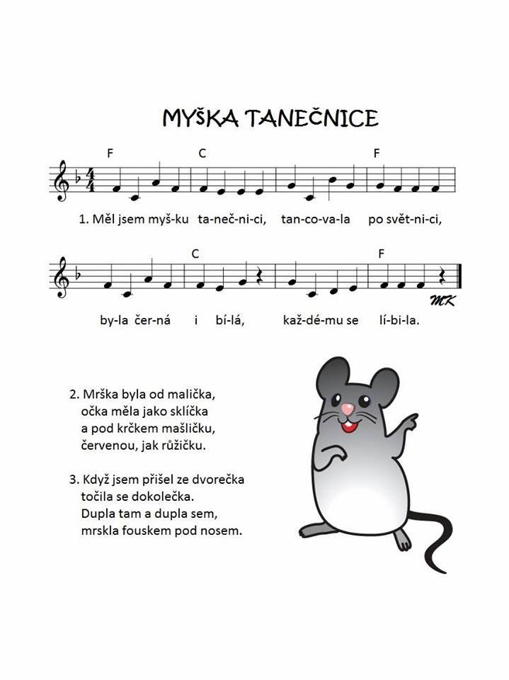 myška tanečnice