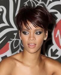 Rihanna Hairstyles Beauty Makeuphair Short Hair Styles Hair