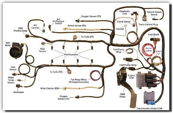 southern performance systems gen iv wire harness kits ls3 l92 rh pinterest com