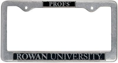 Columbia University Law Chrome License Plate Frame