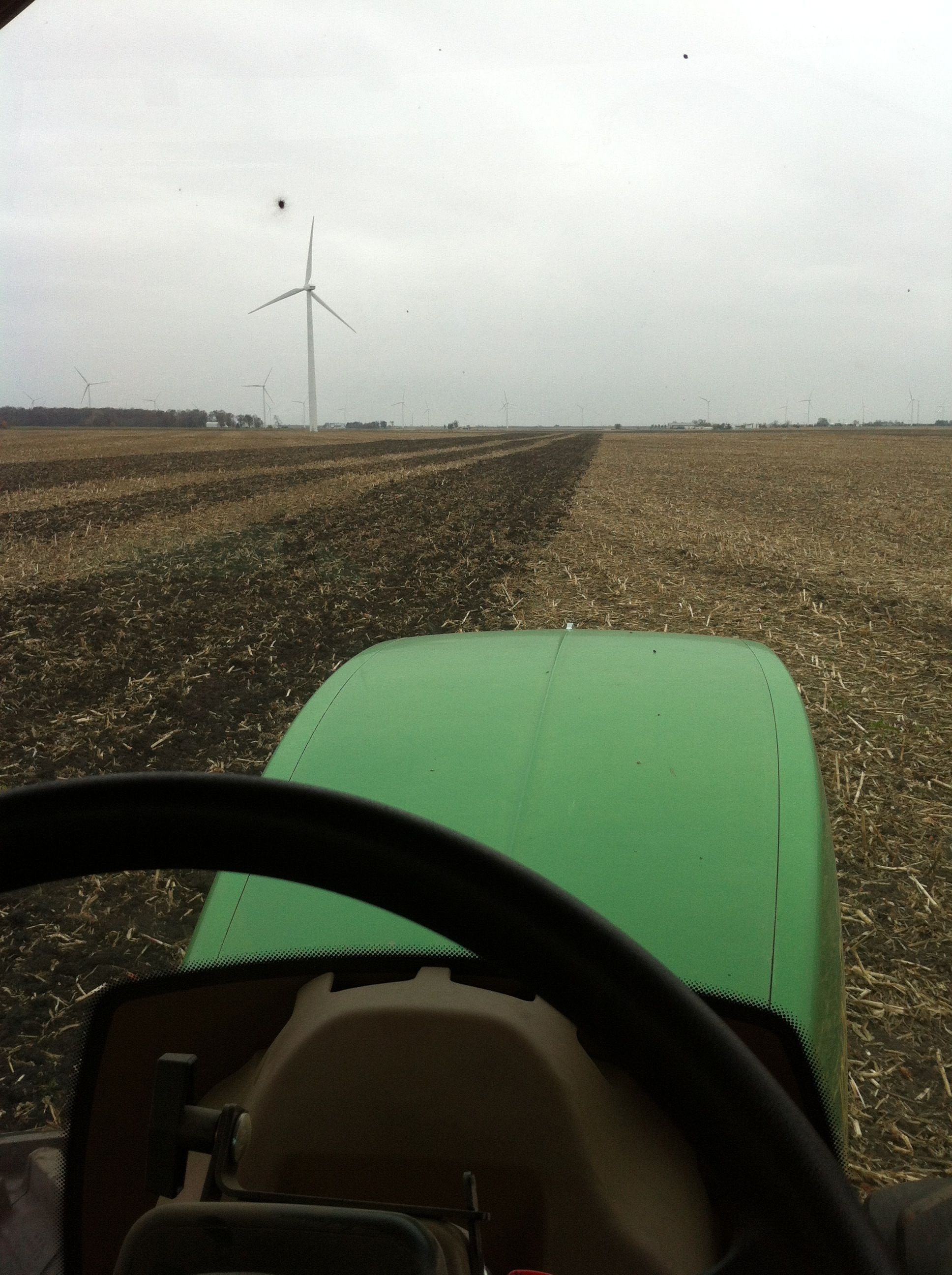 Rippin at the wind farm!