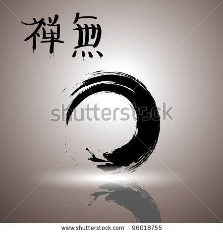 Stock Vector Enso The Symbol Of Zen Buddhism Symbolizes