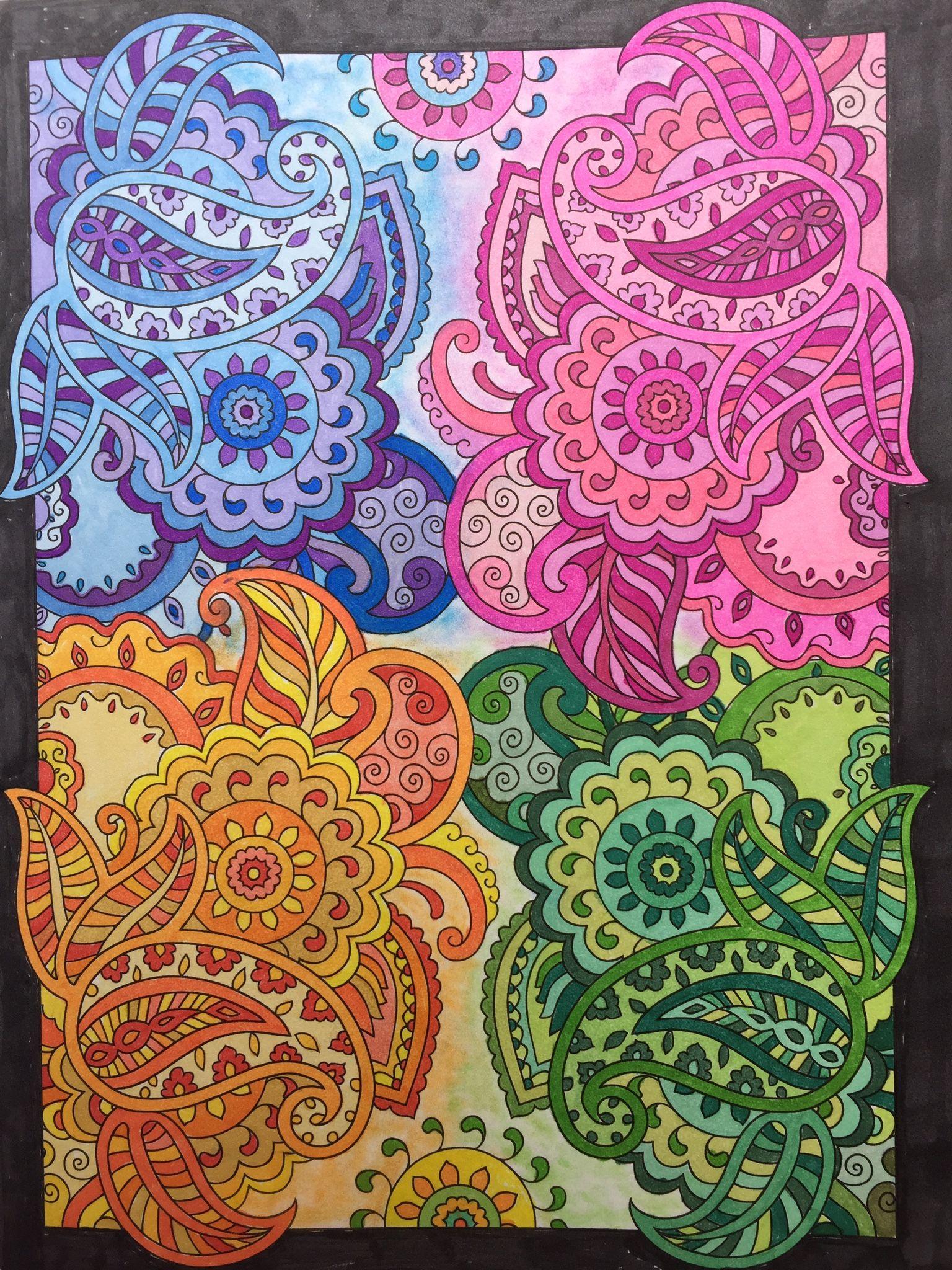 Mehndi Designs Creative Haven Book, Dover Publishing Prismacolor ...