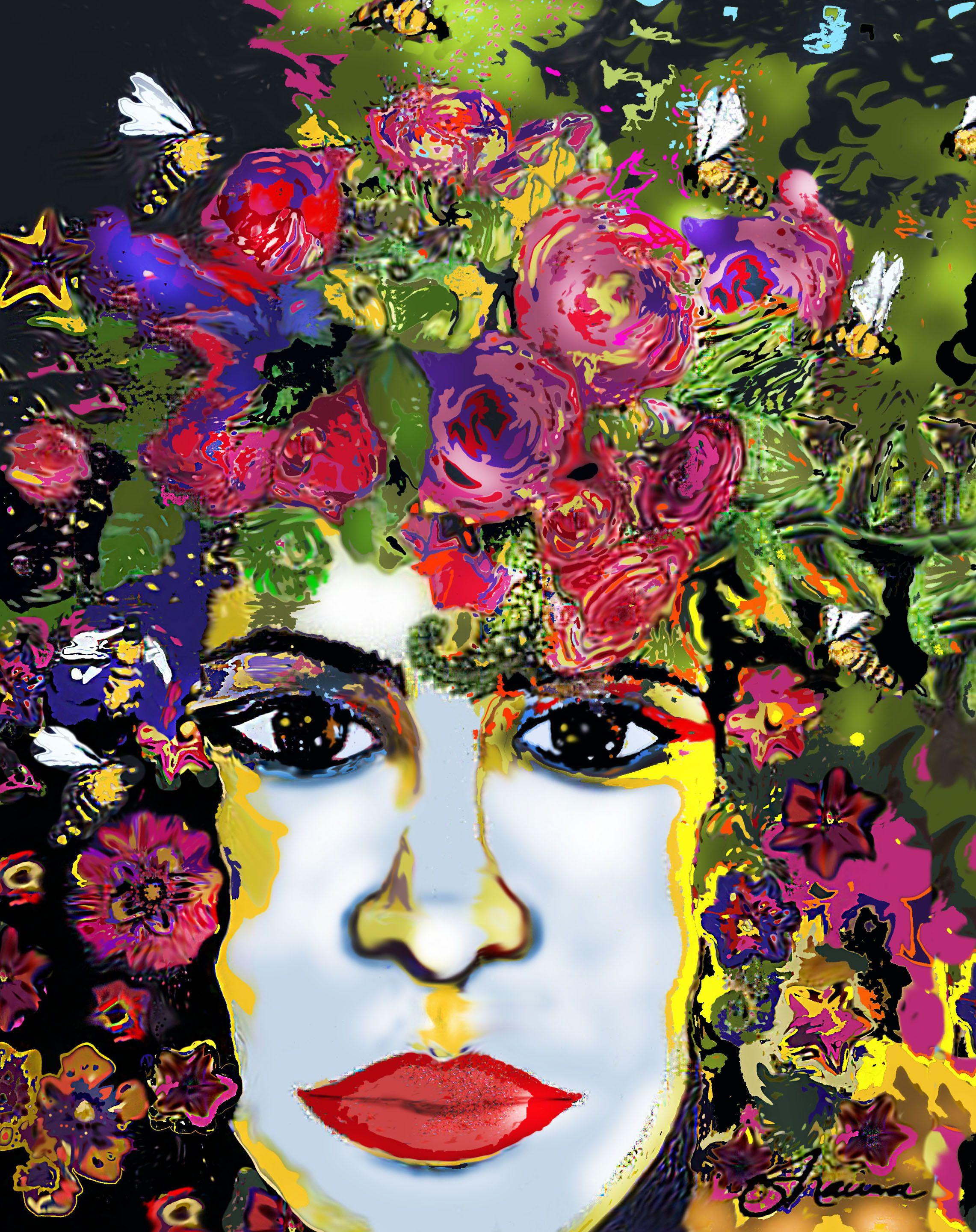 Original Digitally Enhance Mixed Media By Shauna Crandall
