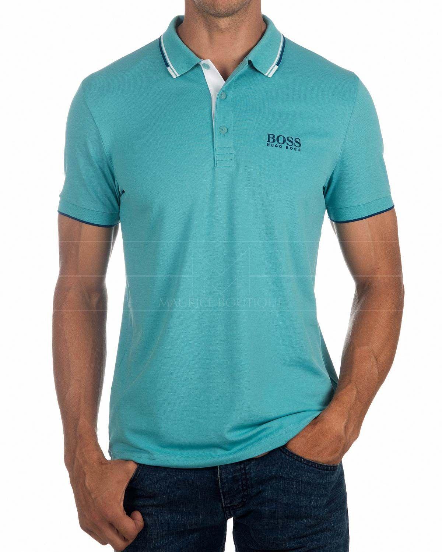 6f81f391762 Polos Hugo Boss Paddy Pro - Azul en 2019 | moda | Ropa, Ropa de ...